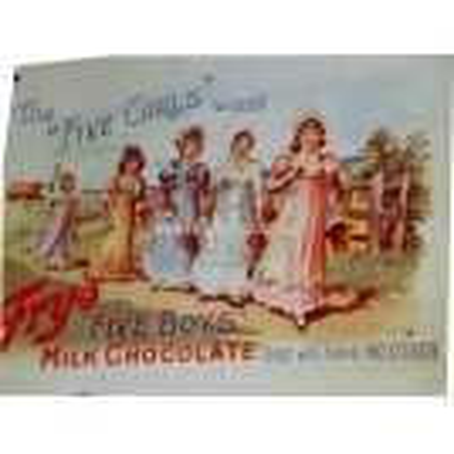 Frys Milk Chocolate sign