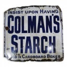 Colmans Starch Sign