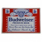Budweiser Enamel Sign