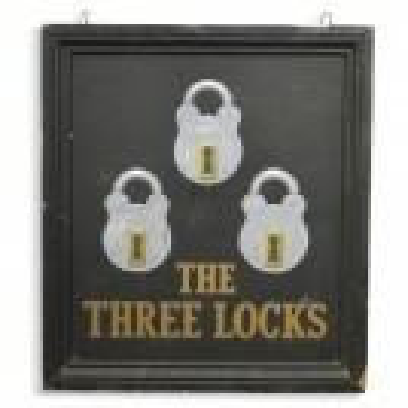 The Three Locks Sign