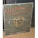 The Star Brewery sign