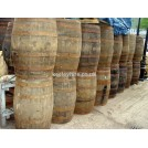 3ft Iron Bound Wood barrels