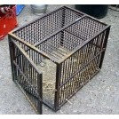 Rectangular Iron cage