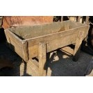 Large pine water trough