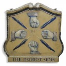 The Patriot Arms sign