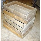 Wood seed trays