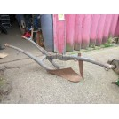 Wood horse plough