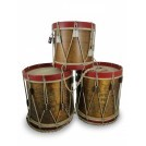 Brown & Red Drums