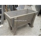 Small wood water trough