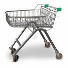 Shallow Supermarket Trolley