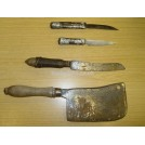 Selection of knives & cleavers