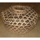 Large open weave basket