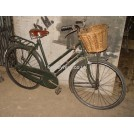 1960s ladies green bicycle