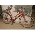 1960s ladies red bicycle