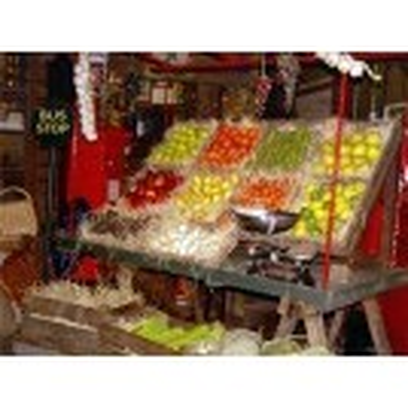 Trestle market stall - Fruit & Veg no2