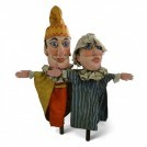 Pair of Punch & Judy Puppets