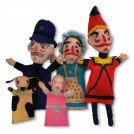 Felt Punch & Judy Puppet set