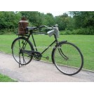 Gentlemens black period bicycle