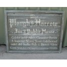 Plough & Harrow Inn sign