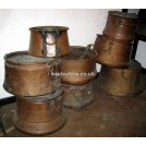 Various Copper Cooking Pots