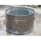 Large copper vat tub