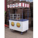 Hamburgers and Hot Dog cart