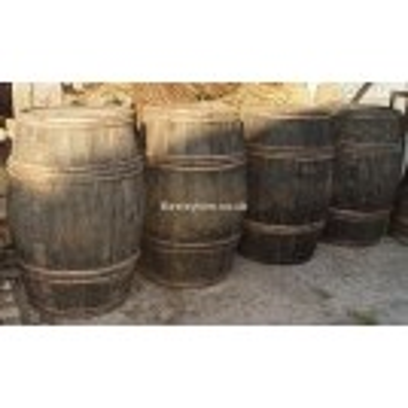 Wood bound large barrel