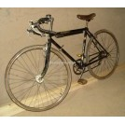 Black Racing bicycle