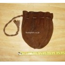 Suede Money Purse