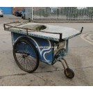 Oriental galvanised cart