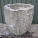 Large stone fibreglass bowl