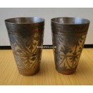 Ornate silver and gold beaker