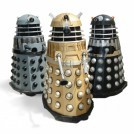 4 x Daleks inc NEW series Dalek