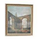Roman Architecture Oil Painting