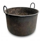 Deep Iron Cooking Pot with Handles