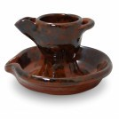 Earthenware Candleholder