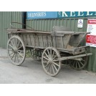 Large 4 Wheel Cart no 2
