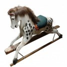 Black & White Rocking Horse