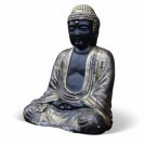 Black and Gold Buddha Statue