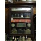 Glass Fronted Wall Display Cabinet