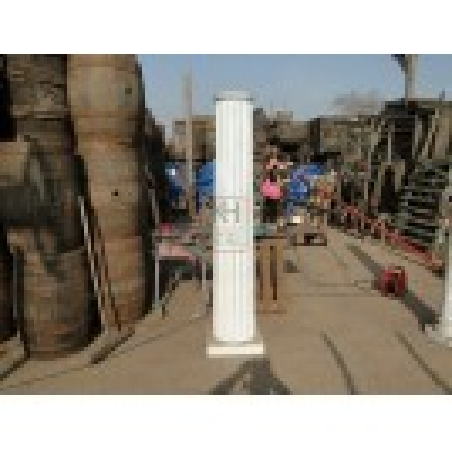 Wide Roman Pillar