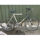 Grey White Mountain Bicycle