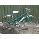 Ladies Turquoise Peugeot Bicycle