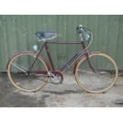 Maroon Bicycle