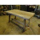 Weathered Wooden Table