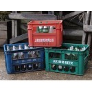 Assorted Plastic Bottle Crates