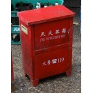 Red Fire Extinguisher Box