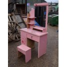 Small Pink Dressing Table