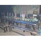 6 Foot Trestle Table