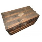 Rustic Wooden branded Period Chest